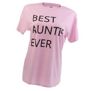 Die Beste Tante Der Frauen T-Shirt Tante T-Shirt Geburtstags-Geschenk Für Tanten M Rosa Beste Tante überhaupt