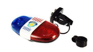Toi-Toys Fahrradlicht mit der Polizei Sirene blau / rot