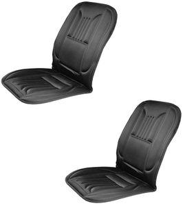 2x Auto Sitzheizung 12V DeLuxe Sitzheizung nachrüsten Heizmatte Heizkissen