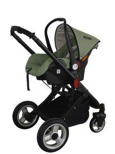 Sitzschale zu Kinderwagen Alu Sun Moosgrün ATS zu Typ 008