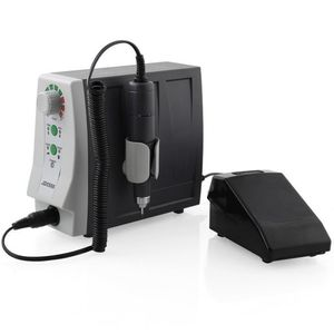 JSDA Profi Nagelfräser 35000 U/min mit Fußpedal für Nagelstudios, Keine Vibration,Kein Lärm - JD5500