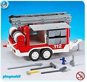 PLAYMOBIL®  City Life Feuerwehr-Anhänger Zubehör Ergänzung 7485