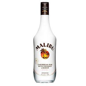 Malibu Carribean Rum mit Kokusnusslikör   21 % vol   0,7 l