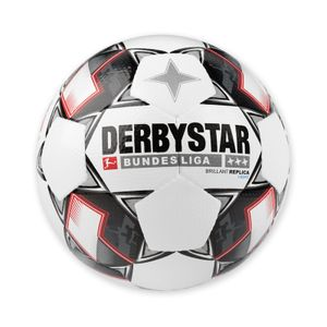 Derbystar Bundesliga Brillant Aps Replica Light (350g) weiß/schwarz/rot Gr.5