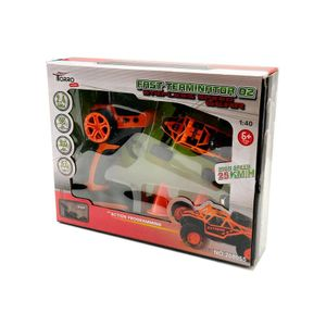 Torro RC 2.4 GHz Fast Terminator 02 orange Mini TRUGGY RTR 1:40