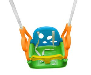 3-in1 Babyschaukel Kleinkinderschaukel Kinderschaukel aus Kunststoff max. 60 kg