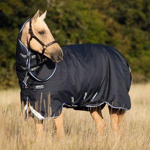 Horseware Amigo Bravo 12 Plus Turnout Lite 0g  - Navy/Blue, Größe:145