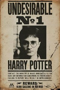 Harry Potter Poster Undesirable No. 1 + Ü-Poster