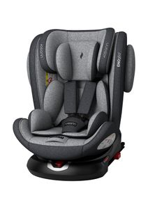Osann Eno360 Kinderautositz Gruppe 0+/1/2/3 (0-36 Kg), Reboarder Dark Grey Melange