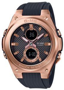 Casio Baby-G Damen Armbanduhr MSG-C100G-1AER Armband schwarz
