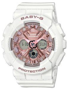 Baby-G Damenuhr Armbanduhr BA-130-7A1ER weiß