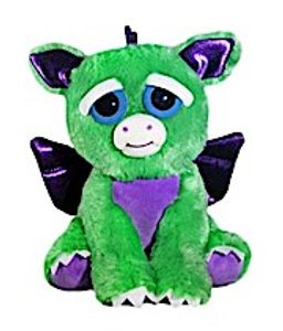 Goliath Toys Feisty Pets Drache Green Dragon elektronisches Haustier Stofftier