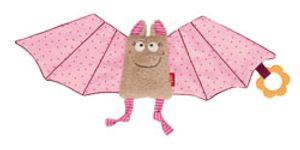 Sigikid Fledermaus Schmusetuch in rosa