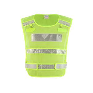 SFVest Hohe Sichtbarkeit Reflektierende Sicherheitsweste Frostschutzmittel Arbeitskleidung Arbeitskleidung Kältebeständige reflektierende Weste Niedrige Temperatur Sicherheitskleidung Tag Nacht Motorrad Radfahren Warnung Sicherheitsweste
