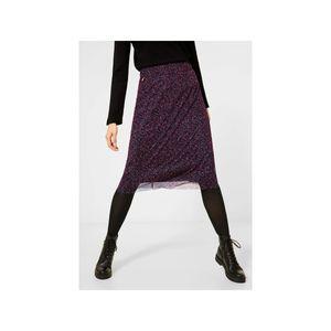 Street One Midi mesh skirt prin 32768 phlox pink 34