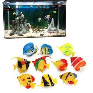 Farbe und Stil, zufällige Simulation kleines Aquarium Aquarium dekorativ gefälschter Fisch kleine Plastikfische