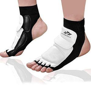 Taekwondo Fußschoner / Knöchelbandage für Kampfsport, Boxsack, Sparring, Training, MMA, UFC, Thi (Größe:S)