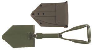 MFH Klappspaten neues BW Modell3-tlg. mit Tasche Klappspaten Camping Spaten NEU