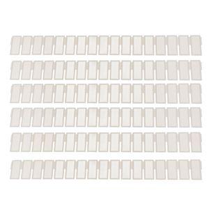 6 Stück Verstellbarer Schubladentrenner Schubladen Organizer Schubladenteiler Schubladenorganizer