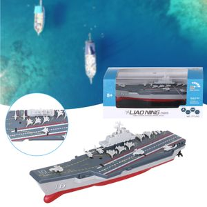 2,4 GHz RC Radio Fernbedienung Navy Flugzeugträger Schiff Boot-Kriegsschiff Spielzeug Geschenk GGF201111003