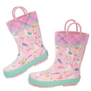 Stephen Joseph - Regenstiefel für Mädchen - Einhorn - Rosa