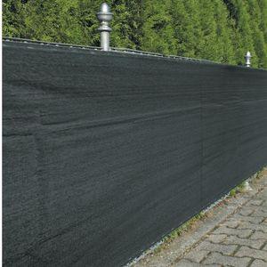 Zaunblende Sichtschutz Winddurchlässig anthrazit