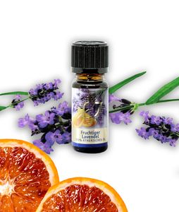 Premium FRUCHTIGER LAVENDEL  Öl 10 ml - 100% Ätherische Öle Aromamanufaktur