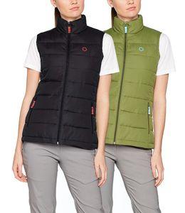 Gregster Damen Outdoor Steppweste, Color:schwarz, Size:S