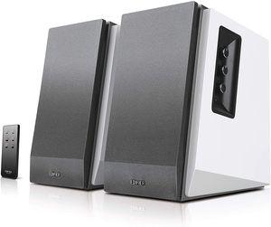 Edifier Aktivboxen Studio R1700BT 2.0 weiss/silber Bluetooth - Aktivbox - Lautsprecher - Stereo