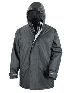 Result Core Winter Herren Parka Jacke, Größe:2XL, Farbe:Schwarz