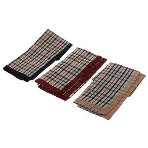 12 x Herrentücher (Es gibt drei Farben, die jeweils 4 Stück hankerchiefs in einer Farbe)  Farbe 4