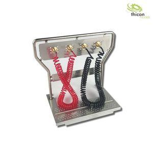 Thicon ScaleClub 1:14 Druckluft-Geräteträger V2A mit Leitungen