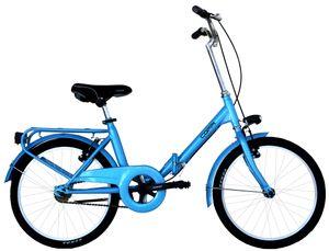 20 Zoll Klappfahrrad Coppi Glamour Single Speed Blau