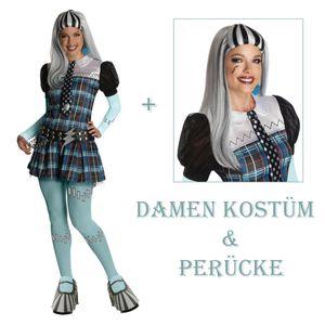 Frankie Stein - Monster High Damen Kostüm & Perücke Größe: S (36/38)