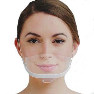 Urhome 10 x Gesichtsvisier aus Kunststoff | Schutzvisier in Weiß | Universal Gesichtsschutz | Visier zum Schutz vor Flüssigkeiten | Face Shield für Mund Nase