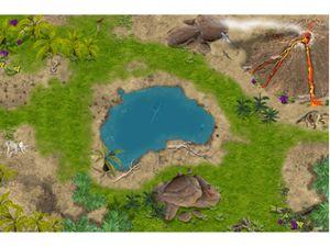 Hochwertige Dinosaurier Spielmatte SM02 mit 3D-Effekt # Der perfekte Spielteppich für Ihr Kinderzimmer!