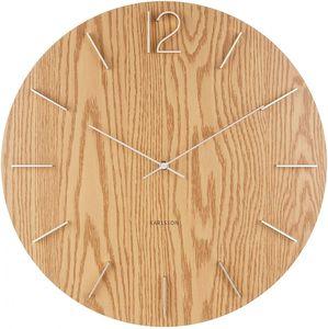 Karlsson wanduhr Meek50 x 4 cm MDF-Holz natur