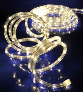 LED Lichterschlauch Lichtschlauch 12m warmweiss mit 288LEDs für aussen und innen 75026