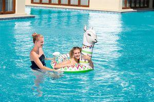 """Bestway® Schwimmring """"Alpaca"""" 113 x 91 cm"""