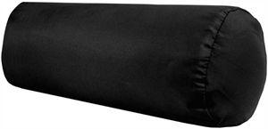 Nackenrolle Ellen, Maße: 12x30 cm, Farbe: Schwarz