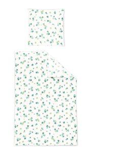 Irisette Soft Jersey Luna Bettwäsche 2 teilig Bettbezug 135 x 200 cm Kopfkissenbezug 80 x 80 cm Luna 392387-30 Lind