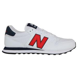 New Balance GM 500 Sneaker Herren Weiß/Schwarz/Rot (GM500TA1) Größe: 40,5