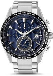 Citizen AT8154-82L Radio Controlled Eco-Drive Chrono Titan Uhr Datum