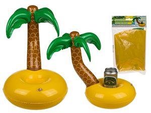 Getränkedosen Halter Aufblasbar Form Palme mit Insel