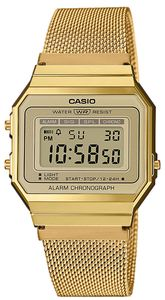 Casio Collection Vintage Armbanduhr A700WEMG-9AEF