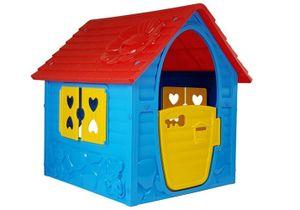 Kinderspielhaus Dream House Blue Spielhaus für Kinder Gartenspielhaus