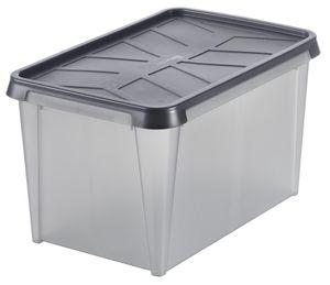 SmartStore Aufbewahrungsbox DRY 45 50 Liter anthrazit