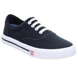 Westland Canvas Sneaker große Größen Soling blau, Dt. Schuhgrößen:46