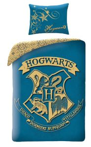 Harry Potter - Kinder-Bettwäsche-Set, 140x200 & 70x90 cm, Hogwarts