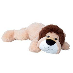 XXL Löwe liegend 100 cm groß Schlaflöwe Kuscheltier
